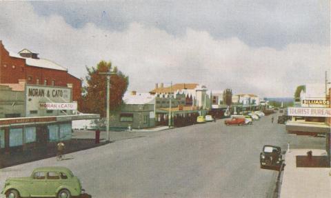 Raymond Street, Sale, 1956