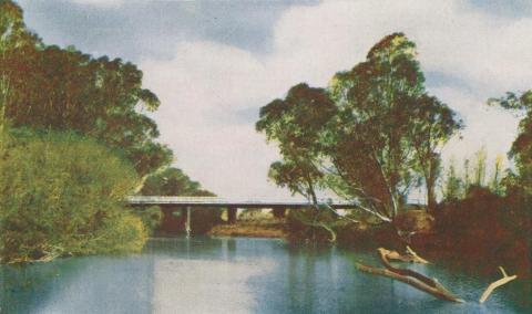 Thomson River, Sale, 1956