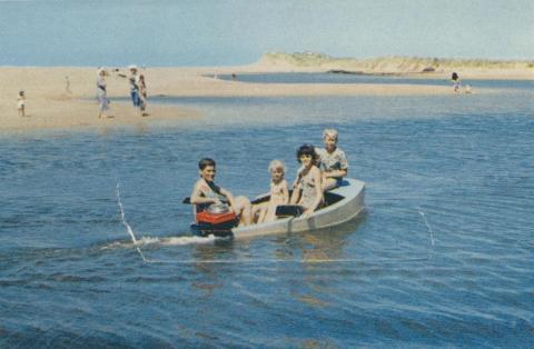 On the Creek at Seaspray, 1975