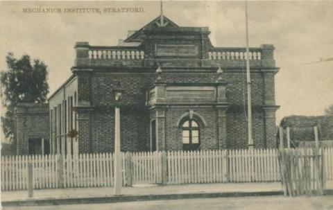 Mechanics Institute, Stratford