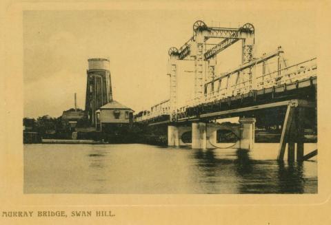 Murray Bridge, Swan Hill, 1909