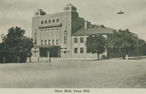 Shire Hall, Swan Hill