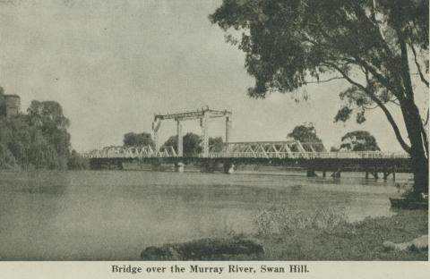 Bridge over the Murray River, Swan Hill
