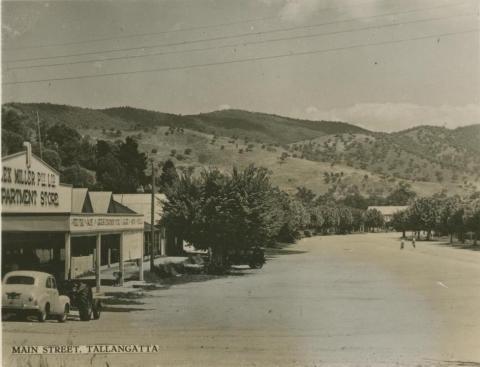 Main Street, Tallangatta