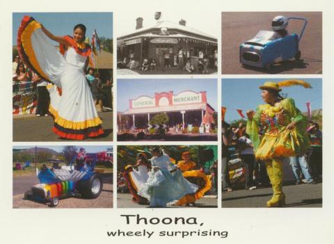 Thoona, Home of the Latin American Festival & the Wheely Bin Races