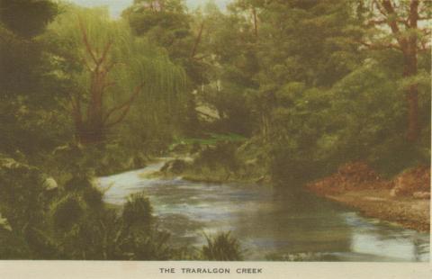 The Traralgon Creek