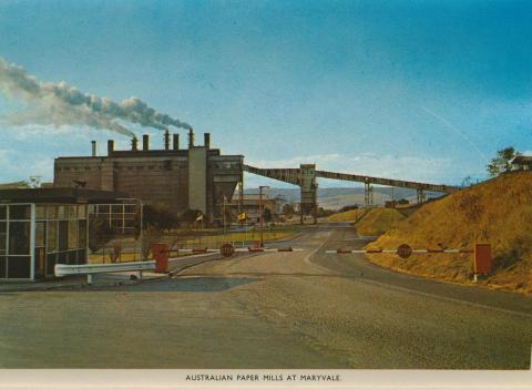 Australian Paper Mills at Maryvale
