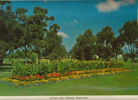 Victory Park Gardens, Traralgon