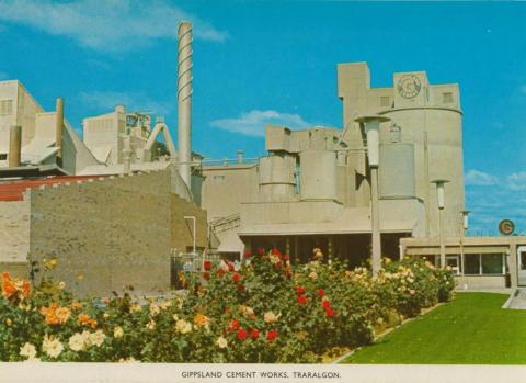 Gippsland Cement Works, Traralgon