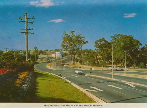 Approaching Traralgon on the Princes Highway