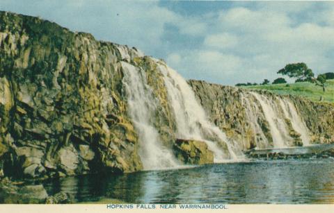 Hopkins Falls, near Warrnambool, 1960