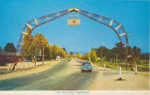 The Pollard Archway, Wodonga, 1965