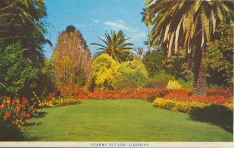 Nearby Botanic Gardens, Wodonga, 1965