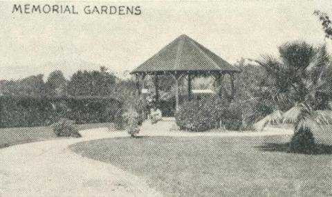 Memorial Gardens, Yackandandah