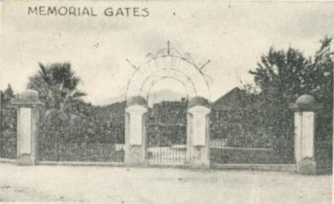 Memorial Gates, Yackandandah