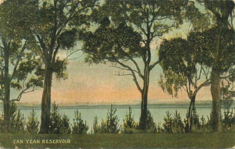 Yan Yean Reservoir, 1902
