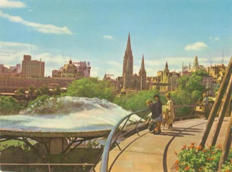South Gate Fountain, Melbourne