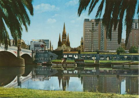River Yarra, Melbourne, 1975