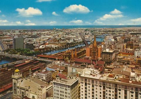 Panoramic view, Melbourne