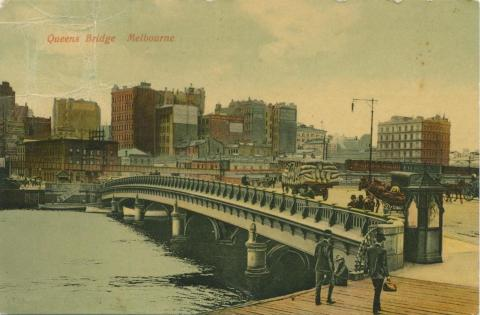 Queen's Bridge, Melbourne