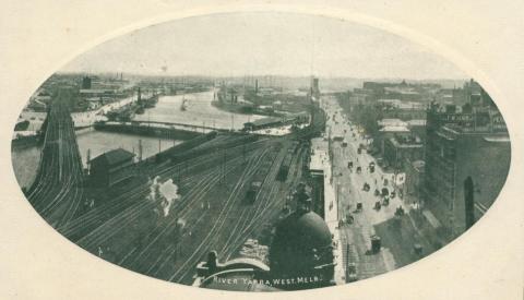 River Yarra, West Melbourne
