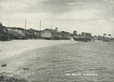 The Beach, Parkdale, 1955