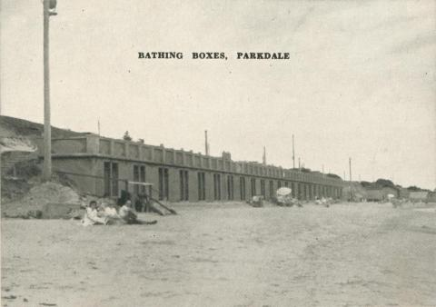 Bathing Boxes, Parkdale, 1955