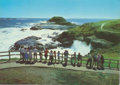 The blowhole and the nobbies, Ventnor, Phillip Island