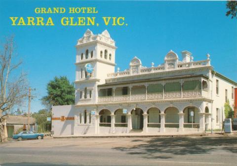 Grand Hotel, Yarra Glen