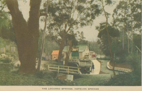 The Locarno Springs, Hepburn Springs, 1948