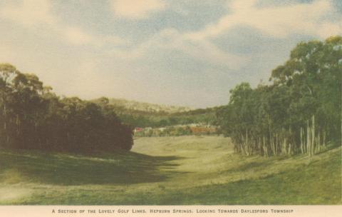 Golf Links, Hepburn Springs, 1948