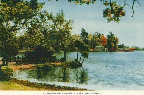 Lake Wendouree, Ballarat, 1958