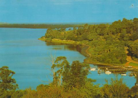 Lower lake at Mirrabooka, Mallacoota
