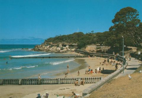 The beach at Point Lonsdale
