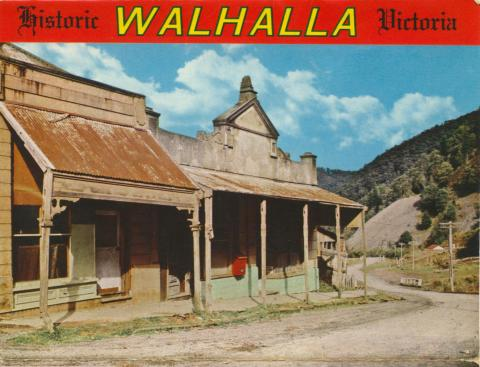 Historic shops, Walhalla