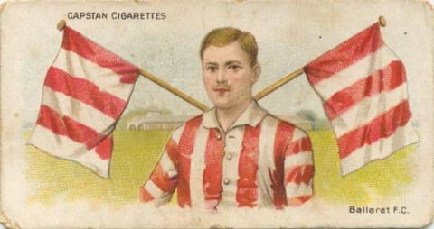 Ballarat Football Club, Capstan Cigarettes Card
