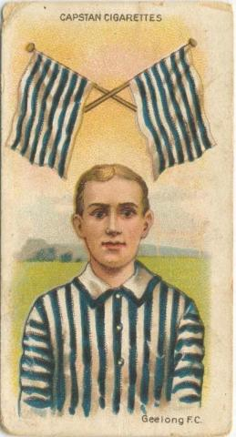 Geelong Football Club, Capstan Cigarettes Card