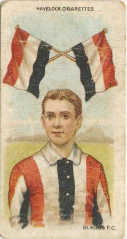 St Kilda Football Club, Havelock Cigarettes Card