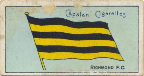 Richmond Football Club, Capstan Cigarettes Card