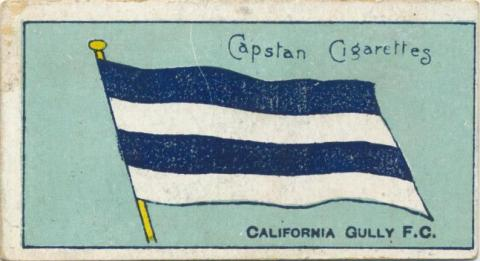 California Gully Football Club, Capstan Cigarettes Card
