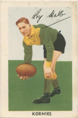 Roy Stabb, Northcote Football Club, Kornies Card