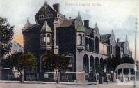 Children's Hospital, Carlton, c1908