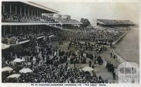 Caulfield Racecourse, Melbourne,  c1954