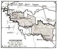 Heidelberg, the City of Streams, 1937
