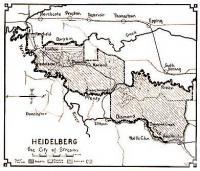 Heidelberg, the City of Streams, 1937