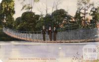 Suspension Bridge over Goulburn River, Alexandra