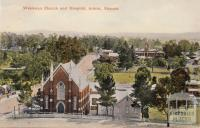 Wesleyan Church and Hospital, Ararat