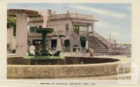 Section of fountain, swimming pool, Arthurs Seat