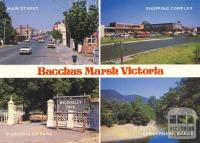 Bacchus Marsh, situated centrally between Melbourne, Geelong and Ballarat, is on