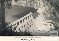 Junction Dam and spillway, Lake Guy,  Bogong